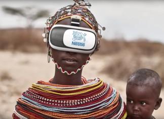 First World VR Nestle-Satire