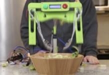 Salat Misch Maschine