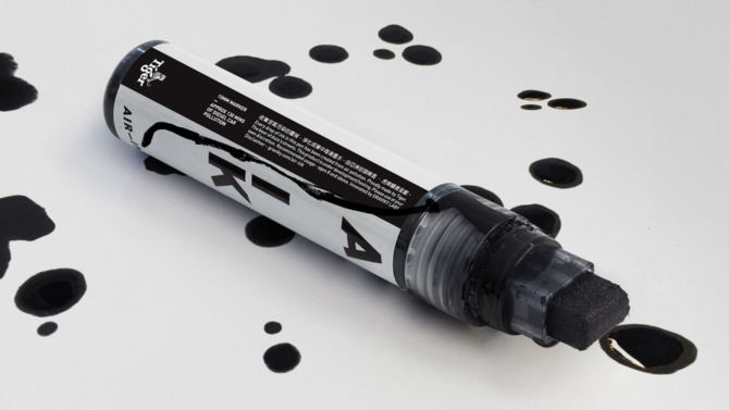 Air-Ink Marker
