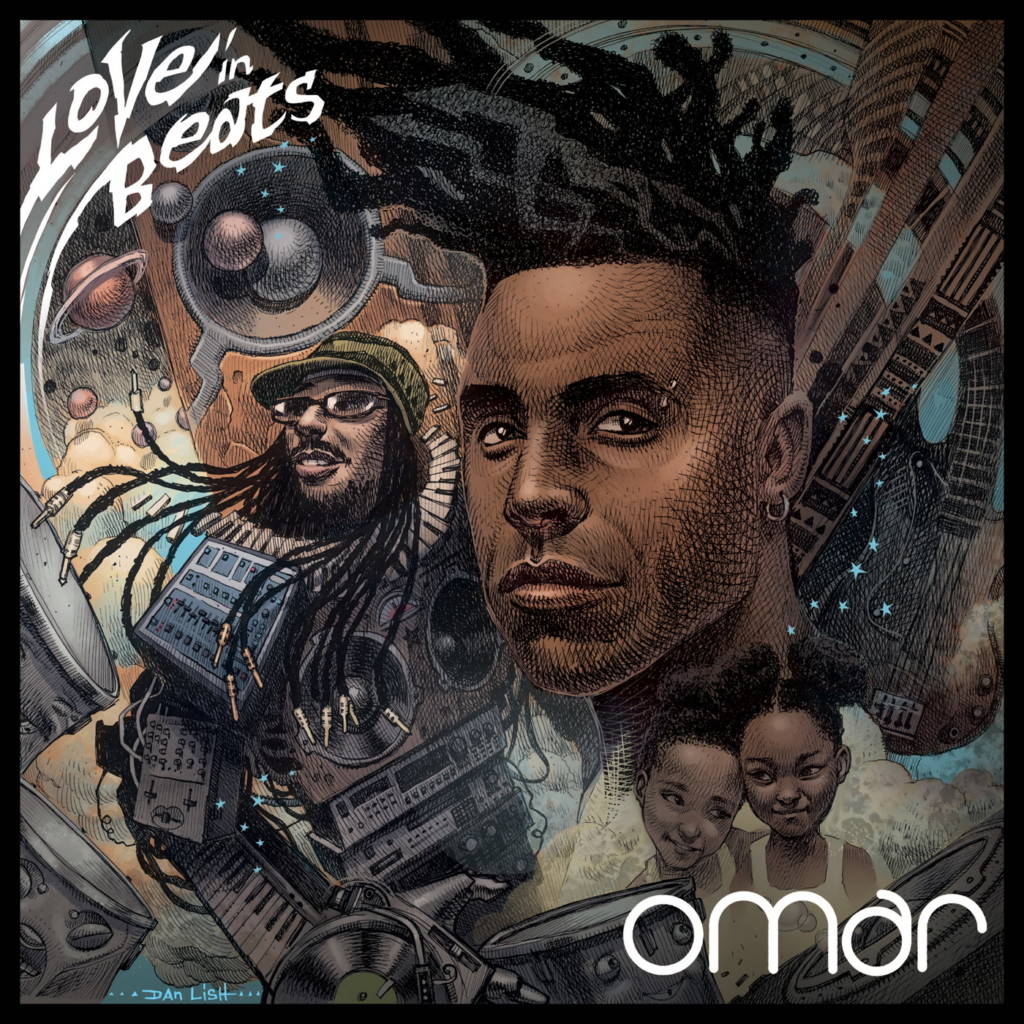 Cover: Omar - Love in Beats
