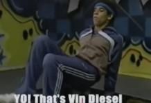 Vin Diesel Breakdance