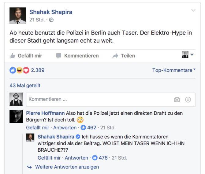 Kreuzberger Polizei hat nun \