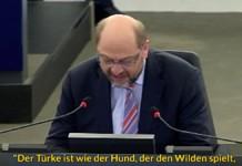 Gottkanzler Martin Schulz schickt den Rassismus raus!