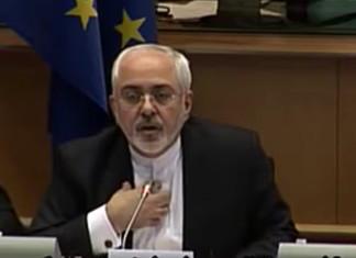 Javad Zarif im EU Parlament