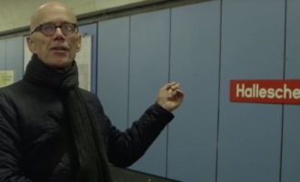 Mit Erik Spiekermann auf Typo-Safari in Berlin