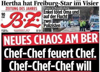 BZ zum BER Chef-Chaos