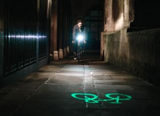 Blaze-Laserlight fürs Fahrrad