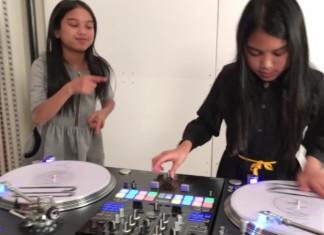 DJs Amira und Kayla