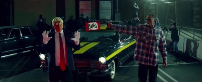 Snoop Dogg erschießt Clown Trump