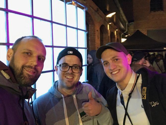 Peter Withoutfield, Dennis vom Rapblokk & Alex von Rap.de