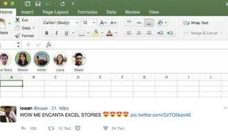 Endlich: Excel bekommt Stories-Funktion