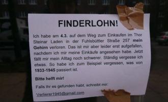 Thor Steiner Laden in Hamburg und das verlorene Gehirn