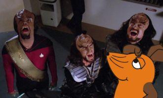 """""""das war… Klingonisch!"""""""