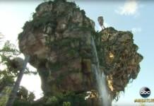 Pandora von Avatar als Disney Park