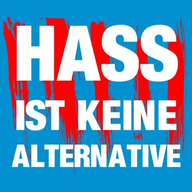 """Platz 1: """"Hass ist keine Alternative"""" von Memes gegen Nazis"""