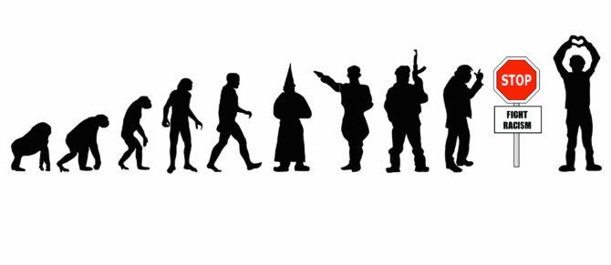"""2 Platz: """"Stop die rechte Evolution"""" von Clara"""