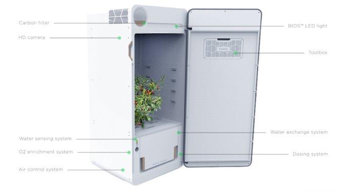 Cannabis Anzucht-Automat von LEAF