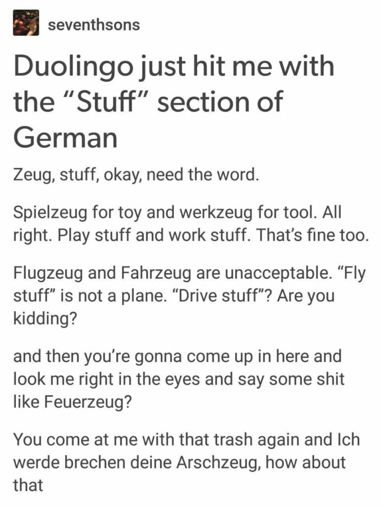 Deutsches Zeug