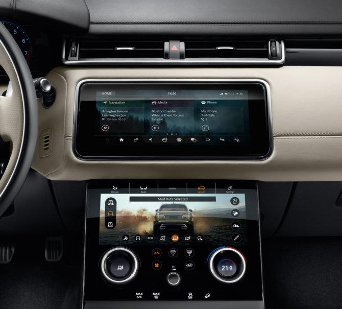 Range Rover Velar Interior-Technik
