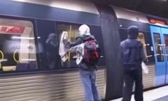 """""""Clean Unit"""" – Crew säubert illegal U- und S-Bahnen"""