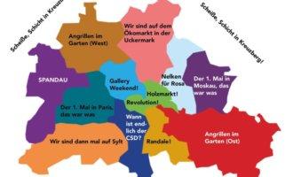 Der erste Mai in Berlin