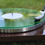 Green Vinyl on green weed