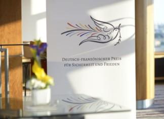 Deutsch-französischer Preis für Sicherheit und Frieden