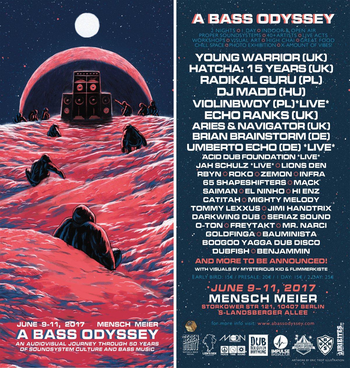 A Bass Odyssey Festival in Berlin