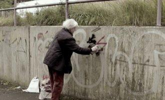 Verfahren eingestellt: Straffreiheit für Rentnerin die Nazi-Parolen übersprüht