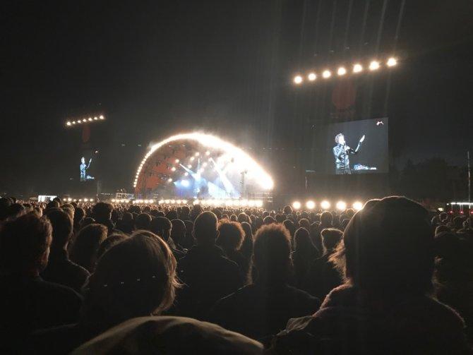 Moderat / Modeselektor auf der Orange Stage in Roskilde