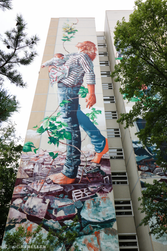 "Mural ""The Circle of Life"" Fintan Magee"