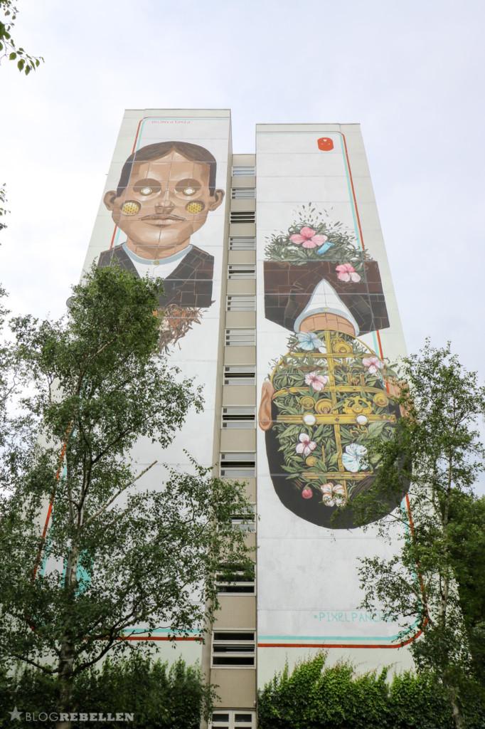 Mural von Pixel Pancho