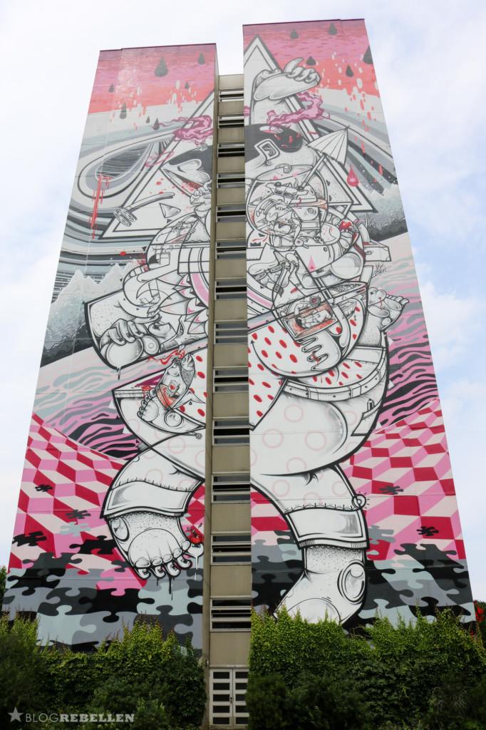 Mural von Hownosm