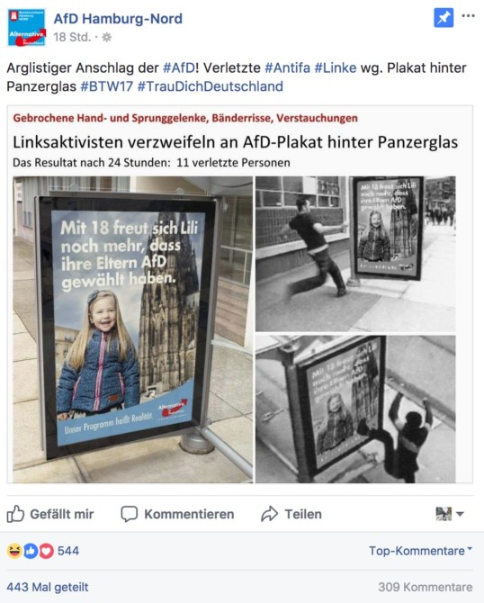 Fake-News der AfD