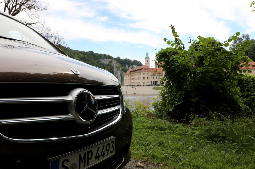 Kurze Rast am Donaudurchbruch