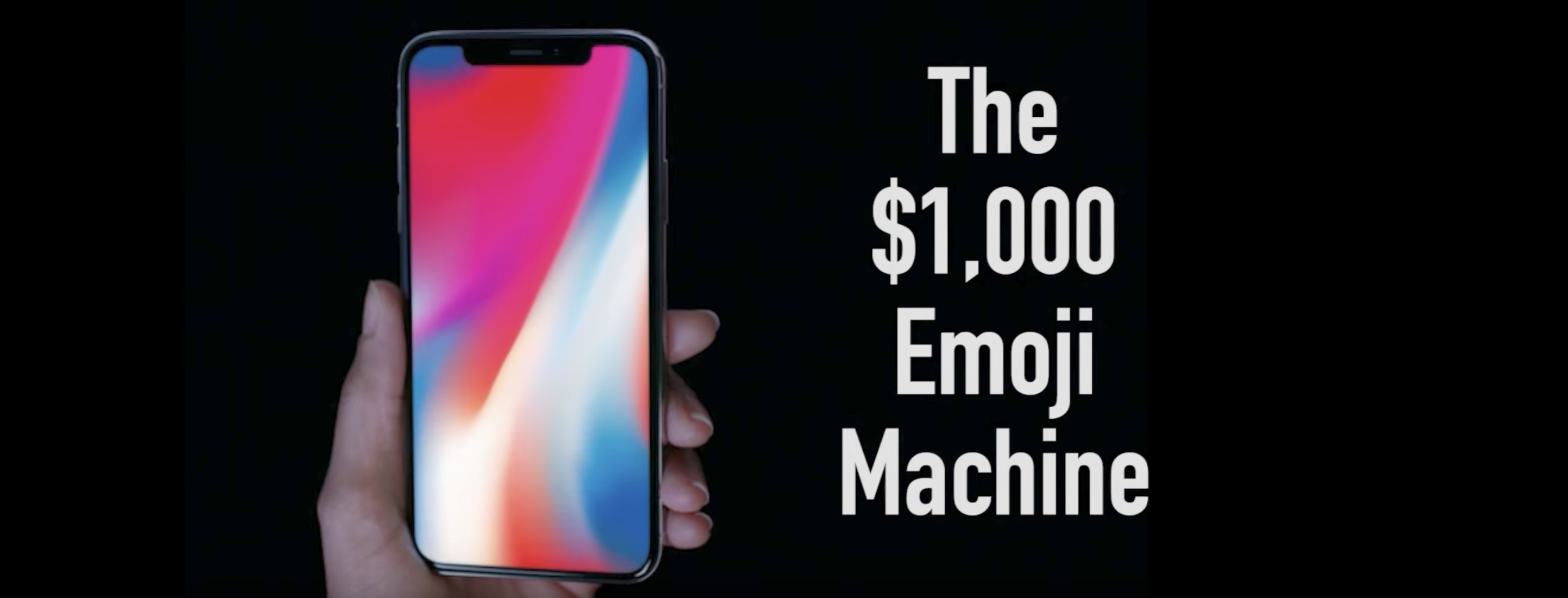Parodie Emoji Machine IPhone X