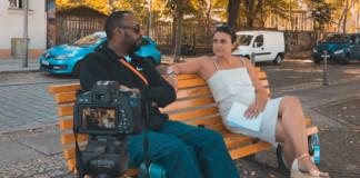 Mit Afrob in Kreuzberg an der Spree