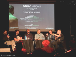 "Sonic Visions Panel ""What's the Story"""