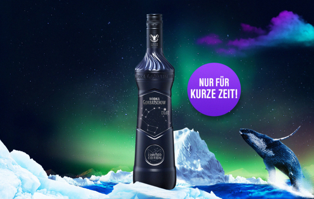 "Wodka Gorbatschow Limited Edition 2017 ""Polarstern"""