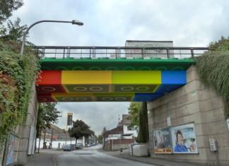 Die Legobrücke in Wuppertal