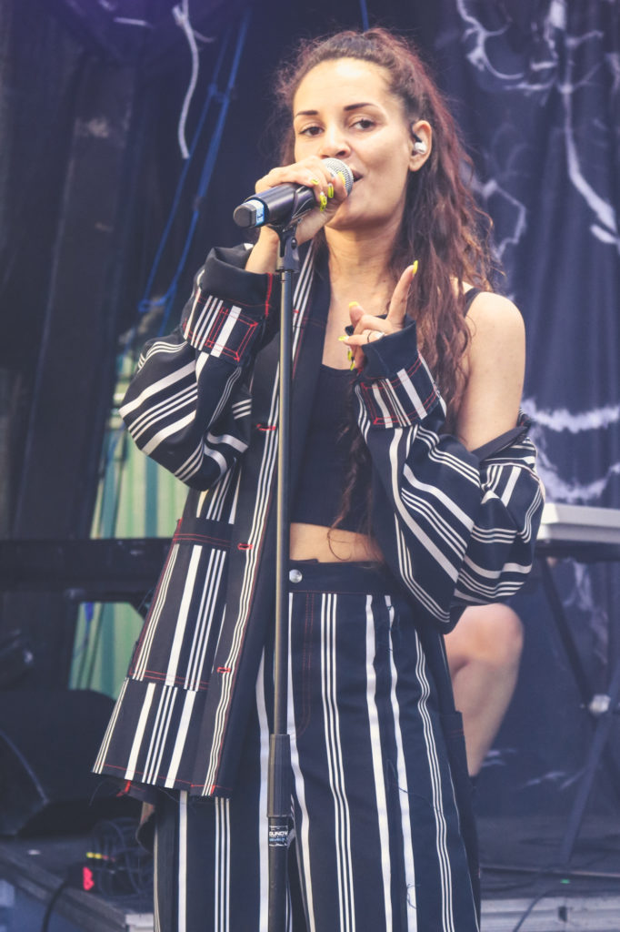 Kaaliyah auf dem SPOT Festival in Dänemark (© Blogrebellen)