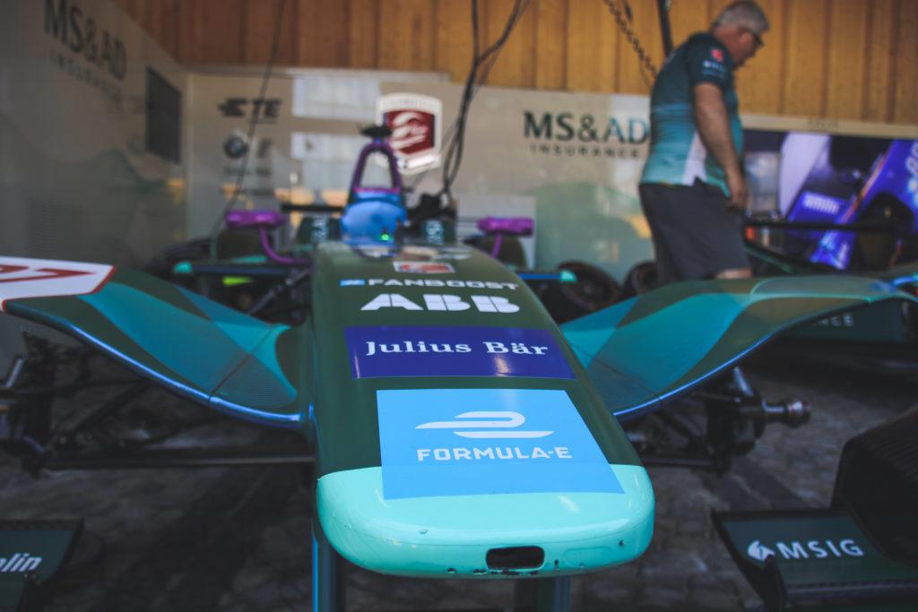 Formula E Rennwagen des Teams MS&AD Andretti