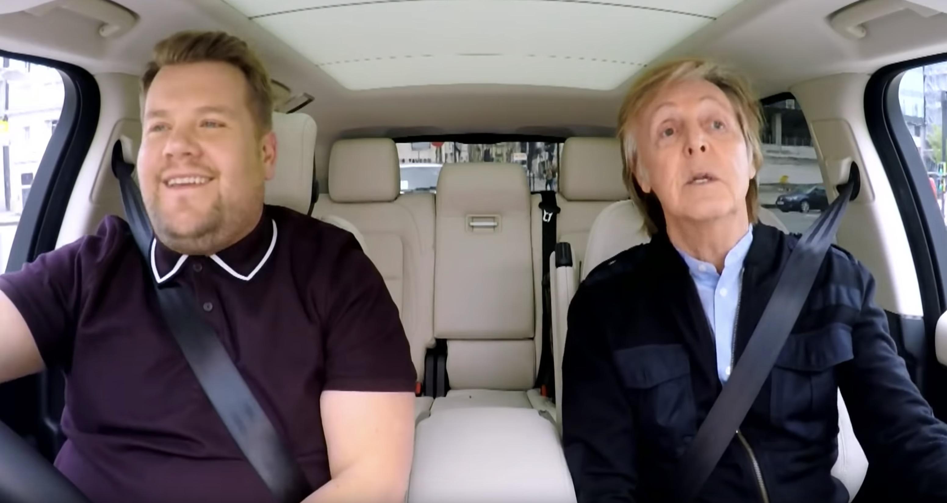 Carpool Karaoke mit Paul McCartney &James Corden