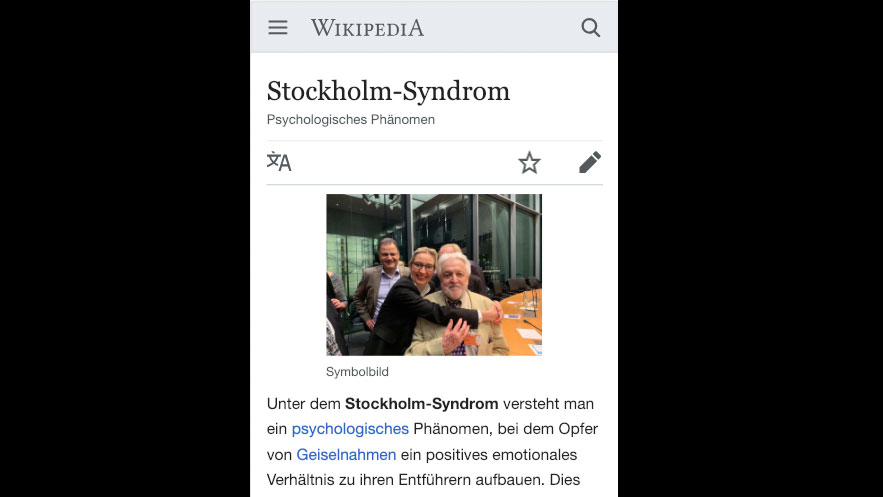 opfer syndrom