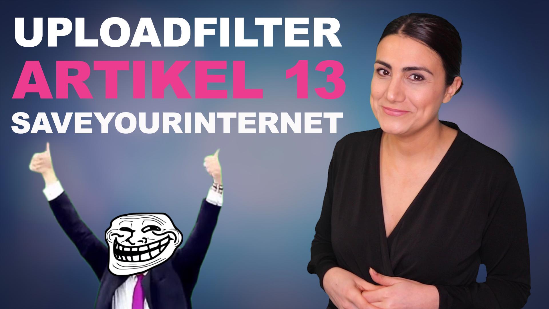 Artikel 13 & Uploadfilter - Worum geht es, wen betrifft es? | spielFAIRberber