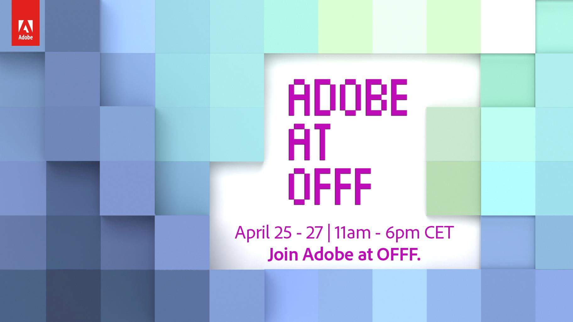 Creative Types Quiz & mit Adobe zum OFFF Festival 2019