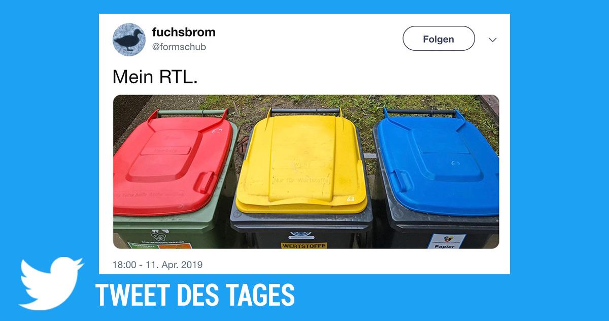 Tweet des Tages: Mein RTL