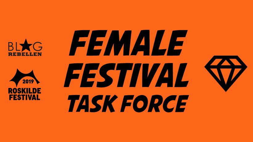 Female Festival Task Force - Blogrebell_innen auf dem Roskilde Festival 2019