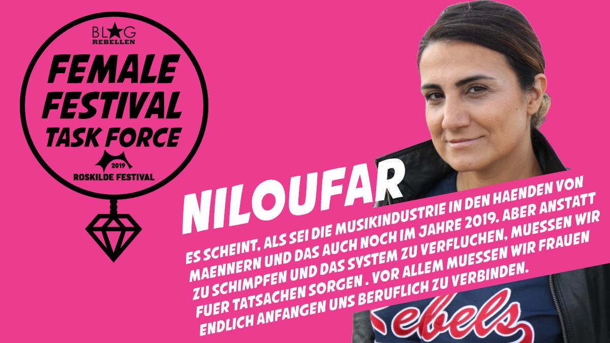 Female Festival Task Force: Niloufar