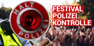 Verkehrskontrolle Festival